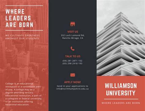 College Brochure Design Ideas Customize 79 College Brochure Templates Canva