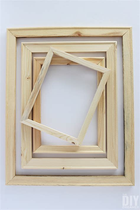 How To Make Cheap Wood Frames The Quick And Easy Diy Way