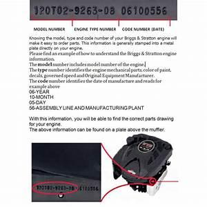 Genuine Briggs And Stratton Part Number 799866 Carburetor