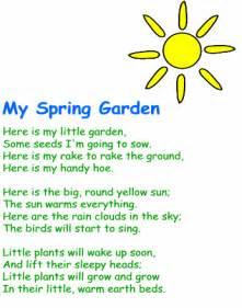 My Spring Garden Poem