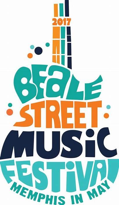 Festival Concert Poster Street Beale Logos Memphis