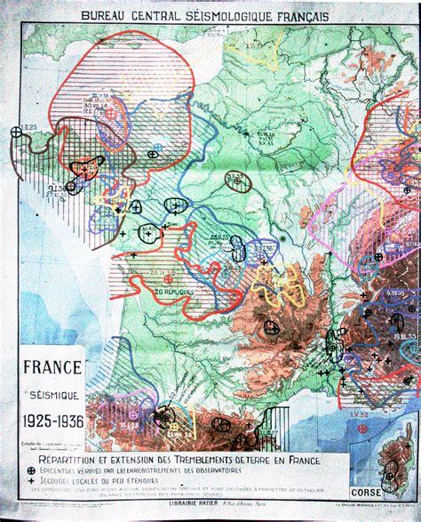 bureau central francais le bureau central sismologique français bcsf données