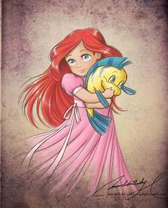 Ariel - The Little Mermaid Fan Art (25791349) - Fanpop