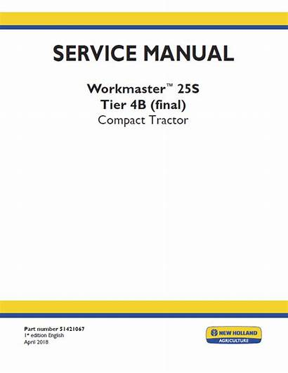 Holland Workmaster 25s Manual Tractor Therepairmanual
