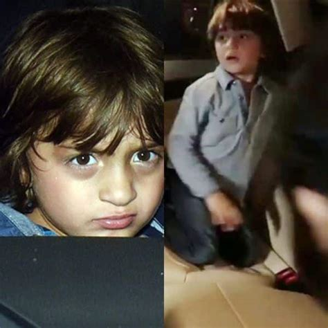 Shahrukh khan son abram khan call him shaguu. 'No pictures!' Have you seen this VIRAL video of an angry AbRam Khan yelling at the paparazzi ...