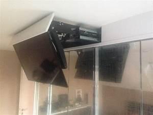Schrank Fernseher Versenkbar Versenkbarer Fernseher Im Tv