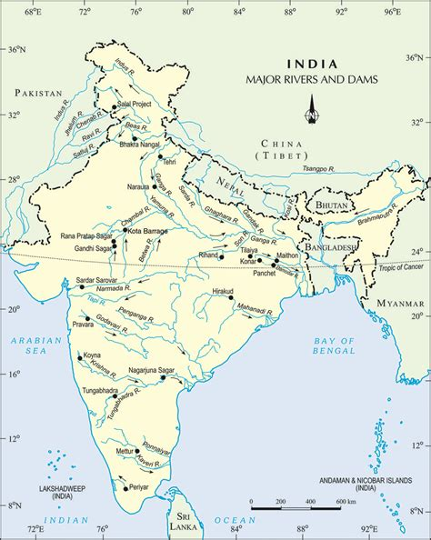 Filemajor Rivers And Dam In Indiajpg  Wikimedia Commons