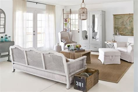 20 Distressed Shabby Chic Living Room Designs To Inspire