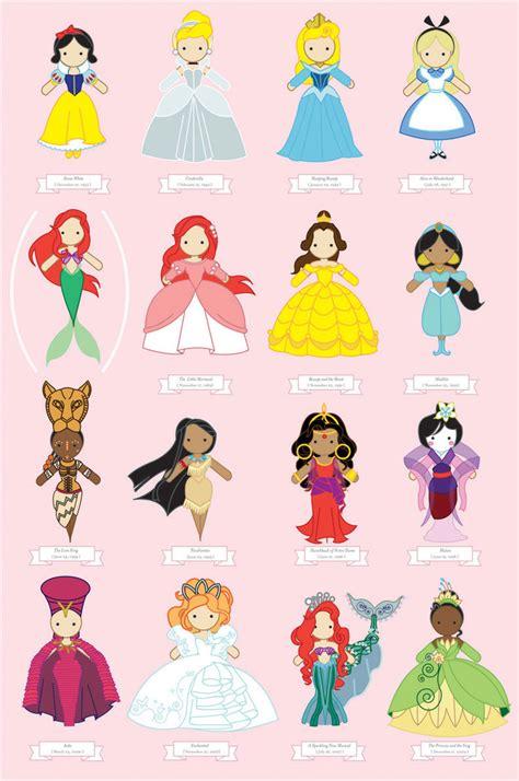 disney princess poster  suisei ojii sama  deviantart