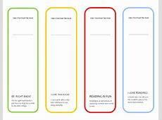 Free Printable Cute Girls Bookmark ~ Parenting Times