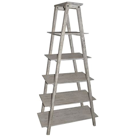 Etagere Wood by Shelby Ladder Wood Etagere Furniture