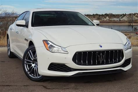 2017 maserati ghibli vs quattroporte gently used 2017 maserati quattroporte luxury sedan for
