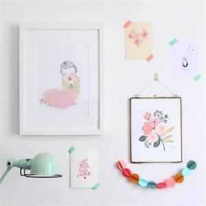 17 meilleures images a propos de illustration art sur With affiche chambre bébé avec mug fleuri