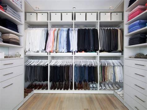 walk in closet in linen contemporary closet new york