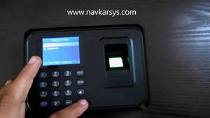 Usb Biometric Fingerprint Time Attendance System India