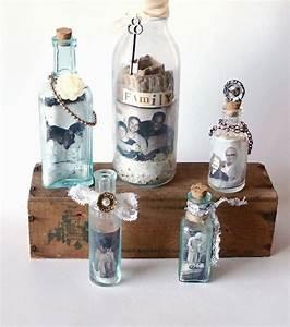 Basteln Mit Glasflaschen : deko flaschen 44 vorschl ge wie sie eine untypische ~ Watch28wear.com Haus und Dekorationen