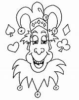 Coloring Clown Joker Jester Pages Colouring Printable Absolute1 Sheets Drawings Draw Drawing Characters Happy Ebooks Self Help Email Popular sketch template