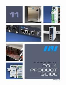 Rlh Industries 10  100 Ethernet Fiber Link Card System