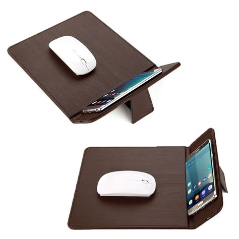 Bakeey Qi Wireless Charger Mouse Pad Mat For Iphone X