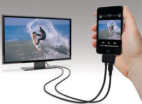 cable to connect iphone to tv how to play from iphone to tv