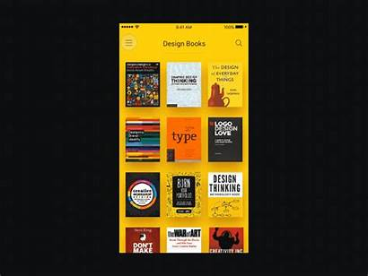 App Sketch Principle Books Ui Reader Mobile