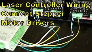 How To Wire The Laser Controller To Stepper Motor Drivers