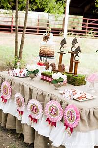 Beautiful Horse Birthday Party By A Blissful Nest Cake