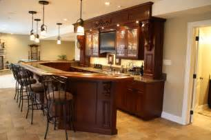 kitchen island with built in table basement bar traditional basement chicago by j