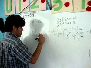 Determinante Berechnen 2x2 : metodo de determinantes 2x2 youtube ~ Themetempest.com Abrechnung