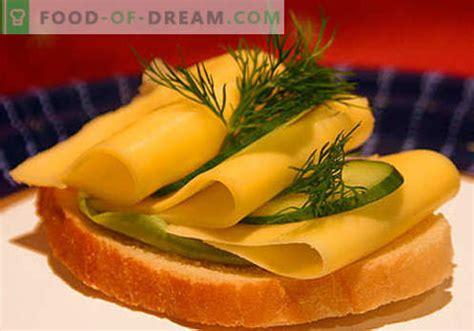 Siera sviestmaizes ir labākās receptes. Kā ātri un garšīgi ...