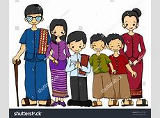 Traditional Costume clipart filipino child Pencil and in