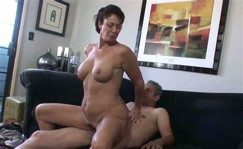 Massive Dong Invades Wet Pussy Of Lustful Brunette Milf