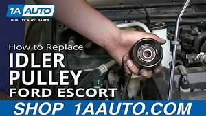 How To Replace Idler Pulley 98