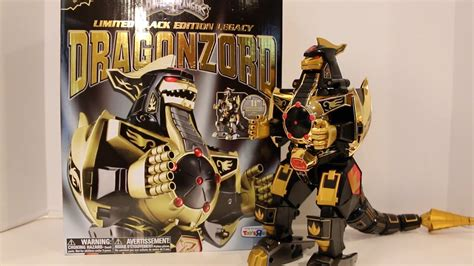Limited Black Edition Legacy Dragonzord Unboxing/Review ...