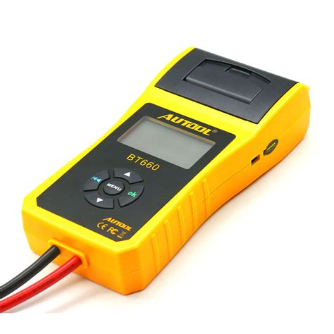Regular battery check will ensure that you'll have your vehicle ready at all times. Autool BT-660 Car Battery Tester Cranking/Charging Test ...