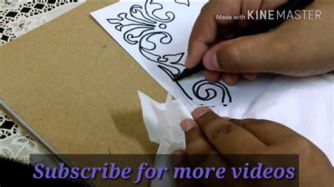 draw  border design  projecs simple  easy