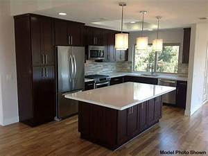 Contemporary Kitchen with Pendant Light by 3 Day Flooring ...