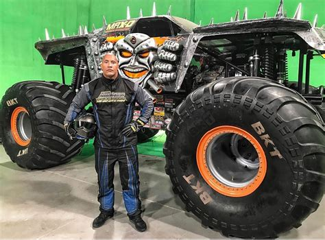when is the monster truck the rock shares a photo of his monster truck people com
