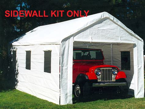 king canopy white canopy sidewall kit windows foot foot canopies