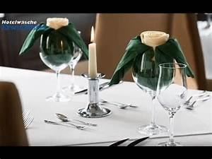 Servietten Falten Tischdeko : servietten falten rose elegante tischdeko von hotelw sche erwin m ller youtube ~ Markanthonyermac.com Haus und Dekorationen