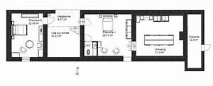 plan de maison longere With plan de maison design 14 filet dhabitation et passerelles