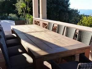 Table Jardin En Bois : table de jardin windsor gescova table en bois de jardin id ~ Teatrodelosmanantiales.com Idées de Décoration