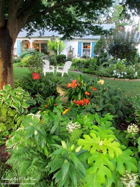 Beautiful Shade Garden Len Barb Rosen