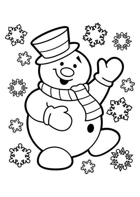 Kleurplaat Hoed Sneeuwman by Kleurplaat Sneeuwpop Kleurplaat Kleurplaten Kerstmis