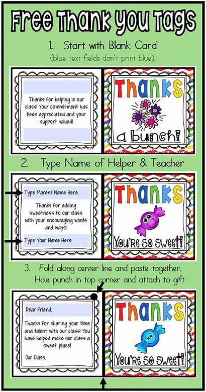 Volunteer Gifts Thank Volunteers Cards Appreciation Teacher