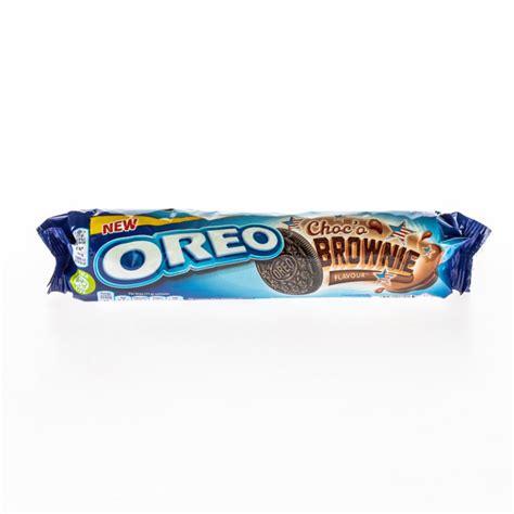Akcija! OREO Brownie cepumi ar šokolādes garšu, 154g 3303 ...