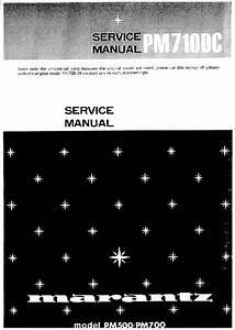 Marantz Pm710dc Service Pdf Marantz Pm710dc Service Pdf