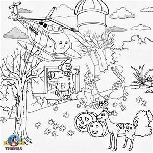 Thomas Train Coloring Pages Free Printable Coloring