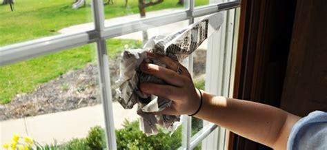 Putzen Mit Zeitungspapier by Fenster Putzen Ohne Streifen Mit Diesen 5 Hausmitteln