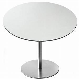 Tisch Weiß Rund : brio tisch rund von la palma bei ~ Frokenaadalensverden.com Haus und Dekorationen